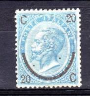 ITALIA REGNO 1865 20 SU 15 CENT. N° 23 ** GOMMA NON ORIG. (r. 8118) - Nuovi
