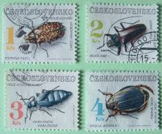 Czechoslovakia 1992 Beetles Insects - Used - 4 K Mint No Gum - Unused Stamps
