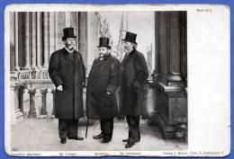 AUSTRIA,DR.LUEGER - STROBACH - DR.NEUMAYER, Um 1900, Verlag J.Heindl Wien - Politische Und Militärische Männer