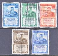 Dominican Republic 412-6  (o)  CONSTITUTYION - Dominican Republic
