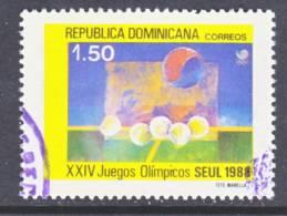 Dominican Republic 1034  (o)  OLYMPICS - Dominican Republic