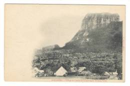 POLYNESIE  FRANCAISE ( TAHITI ) /  ÎLE  DE  BORABORA  ( Bora-Bora ) /  VILLAGE DE FAANUI ET LA MONTAGNE TAMANU PAHIA - Polynésie Française