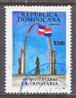 Dominican Republic 1043  (o)  FLAG - Dominican Republic