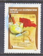 Dominican Republic 1044  (o)  MEDICINE - Dominican Republic