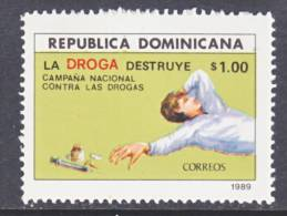 Dominican Republic 1055  **  ANTI-DRUG - Dominican Republic