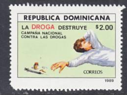 Dominican Republic 1057  **  ANTI-DRUG - Dominican Republic