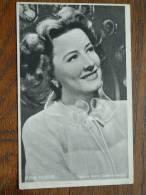 RENE DUNNE Vedette Metro Goldwyn-Mayer / KWATTA 125 X 85 Mm. ( Zie Foto ) !! - Unclassified