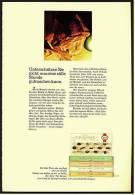 Reklame Werbeanzeige  Lindt Pralinen - Unterschätzen Sie Nicht, Was Eine Stille Stunde , Von 1968 - Andere Sammlungen