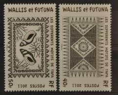 C 276 ++ WALLIS ET FORTUNA 2011 TAPAS POSTFRIS  MNH ** - Wallis En Futuna