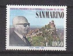 PGL AR0226 - SAN MARINO SAINT MARIN SASSONE N°1144 ** - San Marino