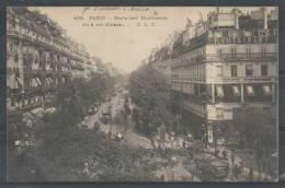 75 - PARIS 2 - Boulevard Montmartre Vu à Vol D'oiseau - 1903 - CLC 468 - (Studio Reutlinger à Droite) - Distrito: 02