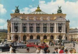 75 - PARIS - Le Théatre De L´opéra Automobiles Simca Austin - Edit. GUY - Non Classés