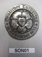 Deutscher Luthertag 1933 - Veranstaltungsabzeichen 3. Reich 1933 - Germania