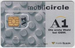 AUSTRIA - GSM/SIM -Mobilkom- 005 - MINT - Autriche