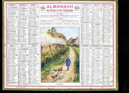Calendrier 1940 , Le Printemps - Calendriers