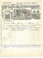 Laeken - 1900 - Société Anonyme Belge Des Beurres Stérilisés - Alimentaire