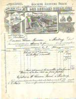 Laeken - 1901- Société Anonyme Belge Des Beurres Stérilisés - Alimentaire