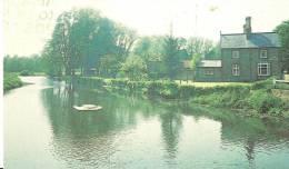 Thetford. Bridge Tavern And River. , Thetford. - Angleterre