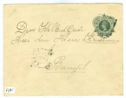 NEDERLANDS-INDIE * BRIEFOMSLAG * Uit 1906 *  Naar BANGIL   (6785) - Niederländisch-Indien