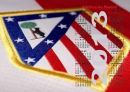 Atletico De Madrid Poster Affiche Calendar 2013 - Grand Format (45x32 Cm.) - Calendarios