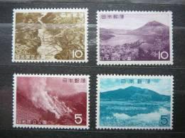 Japan 1962 801/4 (Mi.Nr.) **  MNH - Unused Stamps