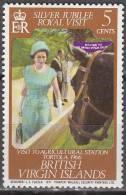 British Virgin Islands 1977 Michel 324 Neuf ** Cote (2004) 0.30 Euro Visite De La Famille Royale - Iles Vièrges Britanniques
