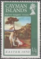 Cayman Islands 1970 Michel 250 Neuf ** Cote (2004) 0.30 Euro Pacques - Iles Caïmans
