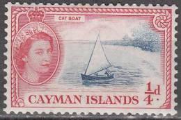 Cayman Islands 1953 Michel 136 Neuf * Cote (2004) 0.70 Euro Bateau De Pêche - Iles Caïmans