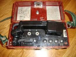 Altes Feld-Telefon Modell F-1603 Aus Den 1970er Jahren? Rumänien Armee - Ausrüstung