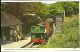Dolgoch Falls On The Talyllyn Railway Merionethshire - Pays De Galles