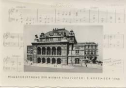 Wiedereröffnung Der Wiener Staatsoper 5 November 1955 - Non Classés