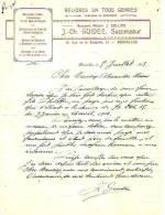 Bruxelles - 1913 - J.-Ch. Guidee, Successeur (ancienne Maison J. Collier) - Imprimerie & Papeterie