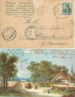 AK  Halver - Winnekendonk  (Bahnstempel Halver-Schalksmühle)           1903 - Covers & Documents