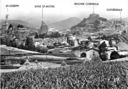 LE PUY EN VELAY    VUE GENERALE    SCANS RECTO VERSO - Le Puy En Velay