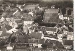 CARTE POSTALE ORIGINALE PHOTO DENTELEE : PARLY ; VUE AERIENNE ; YONNE (89) - Autres Communes