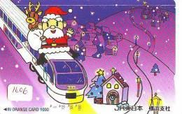 Carte Prepayee JAPON * NOËL (1606) MERRY CHRISTMAS  Prepaid Card Japan * Karte WEIHNACHTEN * KERST NAVIDAD * NATALE - Weihnachten