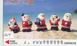Carte Prepayee JAPON * NOËL (1614) MERRY CHRISTMAS  Prepaid Card Japan * Karte WEIHNACHTEN * KERST NAVIDAD * NATALE - Kerstmis