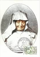 MAXIMA FRANCIA ANNE MARIE JAVOUHEY RELIGION MAT PARIS - Cartas Máxima