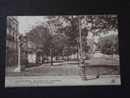 SAINT-ETIENNE (Loire) - Monument Des Combattants Et Le Coq De La Victoire - Voyagée - Saint Etienne