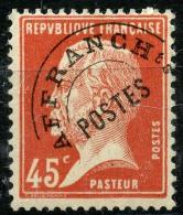 France Préos (1924) N 67 * (charniere) - Préoblitérés
