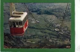 65 Saint-Lary-Soulan, Ville Touristique Et Thermale Des Hautes-Pyrénées (65). Le Téléphérique Du Pic Lumiére BEAU PLAN - France