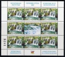 BOSNIAN SERB REPUBLIC 2005 Water Protection Sheetlet  MNH / **.  Michel 326 Kb - Bosnien-Herzegowina