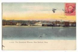 D10144  - The Steamboat Wharves, New Bedford - Etats-Unis