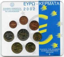 Grèce Greece Coffret Officiel BU 2002 - Grèce