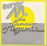"""45 Tours SP - BONEY M.  - HANSA 112487  """" THE SUMMER MEGAMIX"""" + 1 - Autres - Musique Anglaise"""
