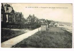LION-SUR-MER  ( Calvados  )  Perspective Des Plages Hermanville-Lion - Autres Communes