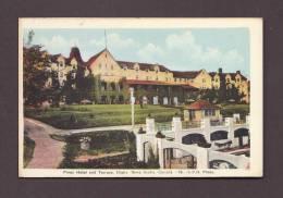 HÔTEL - PINES HOTEL AND TERRACE - DIGBY NOVA SCOTIA - C.P.R. PHOTO - Hotels & Restaurants