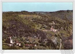 CPSM  -   MANAURIE  (24)  Le Chateau De Rocaudou  -  Vue Aérienne - France