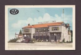 HÔTEL - RED LINE INN - CALLANDER ONTARIO - BUILT 1937 - OLD CARS - ANIMATED - NICE STAMP - Hotels & Restaurants