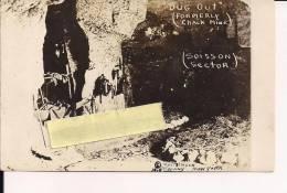 Soissons Creutes Carrieres Aisne Chemin Des Dames Carte Photo Us Poilus 1914-1918 14-18 Ww1 WWI 1.wk - War, Military